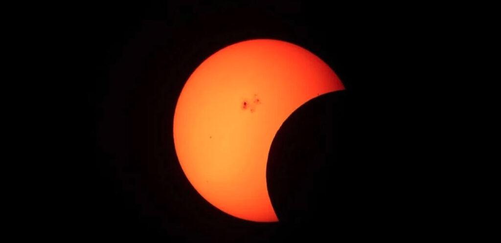 último eclipe solar 2020